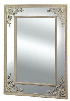 Espejo Vintage III Crema Rozado (125X95)