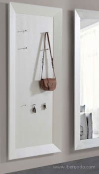 Perchero Luxe Blanco (180x80)