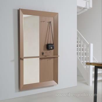 Perchero con Espejo Luxe Roble (180x110)