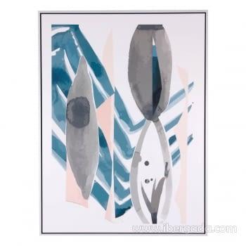 Cuadro PIKAS Marco Blanco (60x80)