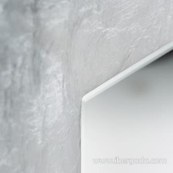 Espejo Lidia Silver (80x60) - 1