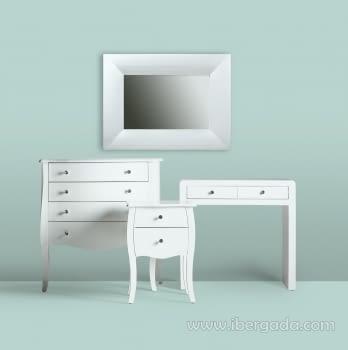 Espejo Lidia White (80x60) - 2