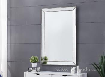 Espejo Cuerda plata (120x80)