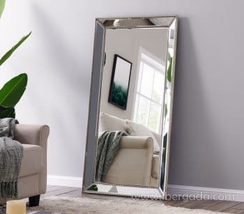 Espejo Cuerda plata Vestidor (180x80)