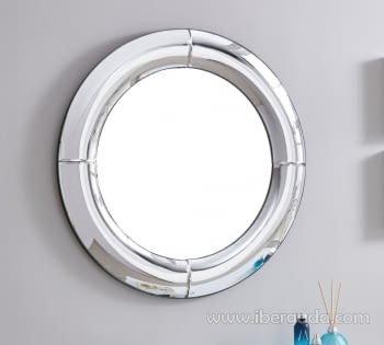 Espejo Curve Redondo (80x80)