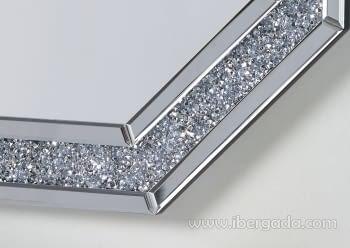 Espejo Diamante Octogonal (90x90) - 1