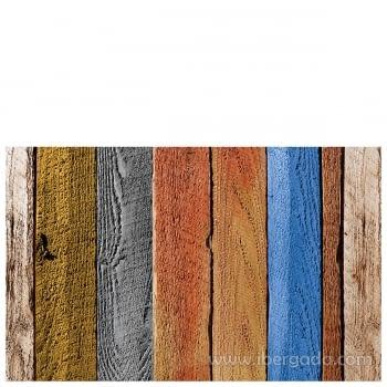 Alfombra Vinílica Tablas de madera