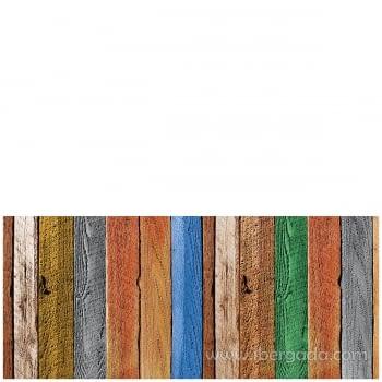 Alfombra Vinílica Tablas de madera - 2