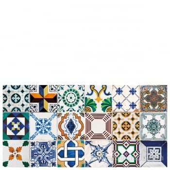Alfombra Vinílica Ceramic Patchwork