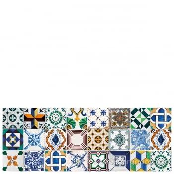 Alfombra Vinílica Ceramic Patchwork - 1