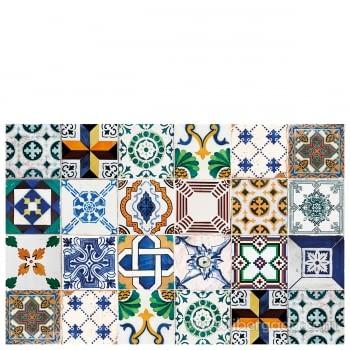 Alfombra Vinílica Ceramic Patchwork - 2