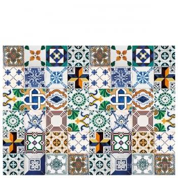 Alfombra Vinílica Ceramic Patchwork - 4