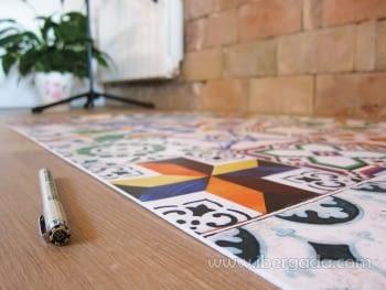 Alfombra Vinílica Ceramic Patchwork - 6