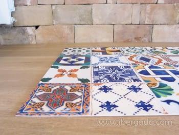 Alfombra Vinílica Ceramic Patchwork - 7