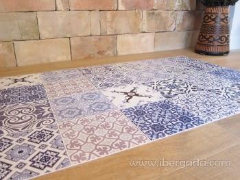 Alfombra Vinílica Faro Azul - 5