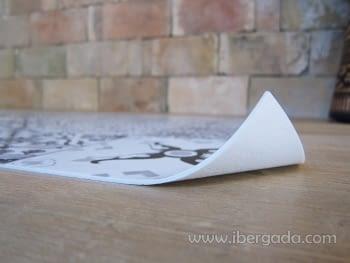 Alfombra Vinílica Faro Gris - 4