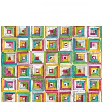 Alfombra Vinílica Infantil Color Patchwork