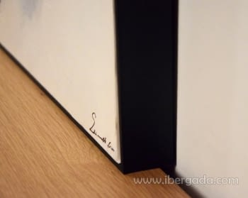 Cuadro Abstracto con Marco Negro I (120x90) - 3