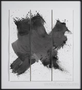 Cuadro Shimanto I (80x80)