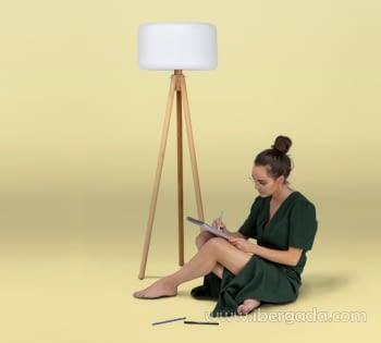 Lámpara de Pie Chloe