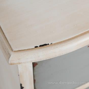 Cómoda Blanco/Gris 3 Cajones - 5