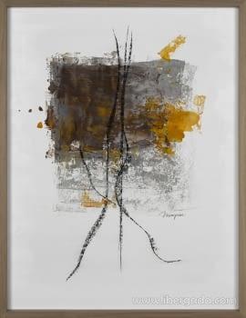 Cuadro Ebano I (90x70)