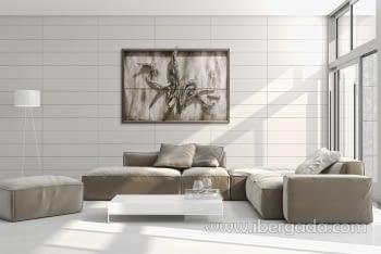 Cuadro Urban Nature Bianco (190x130) - 1