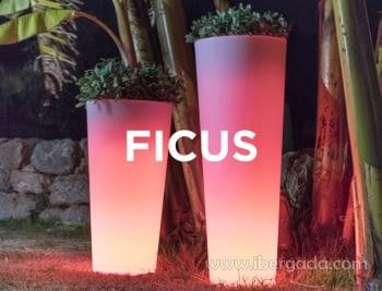 Macetero Ficus 80 Light (30X30X80)