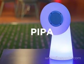 Lámpara Portátil Pipa Light & Music