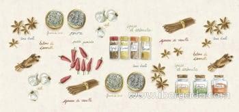 Alfombra Vinílica Chef Canela