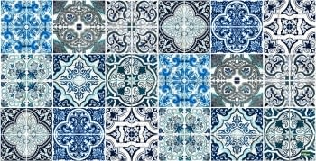 Alfombra Vinílica Chef Lisboa Azul