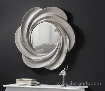 Espejo Astrid Redondo Plata (82x82)