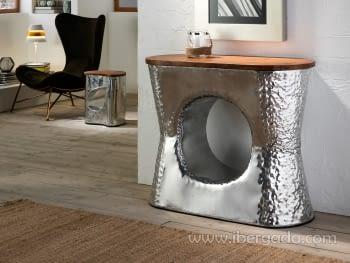 Consola Ornella Aluminio