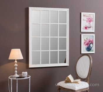 Espejo Ventana Domine Blanco (115x80)