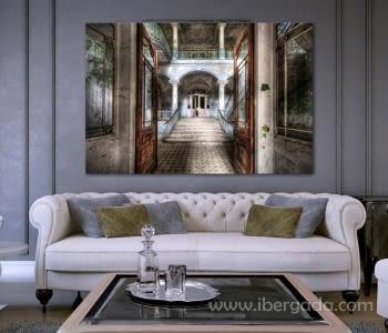 Fotografía Casa Abandonada (150x100)