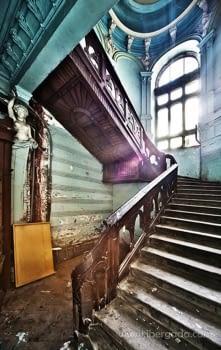 Fotografía Escaleras I (90x60)
