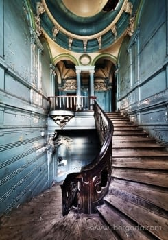 Fotografía Escaleras II (90x60)
