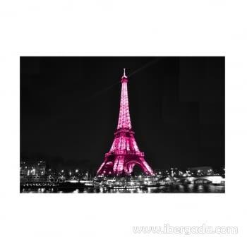 Fotografía Eiffel by Night (120x80)