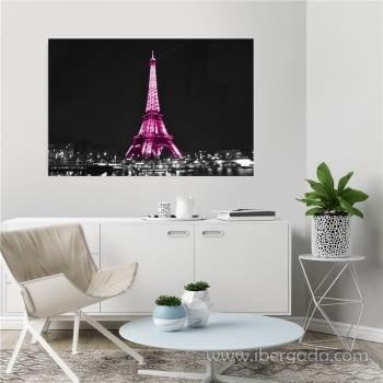 Fotografía Eiffel by Night (120x80) - 1