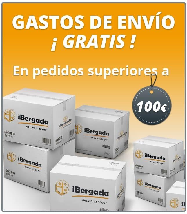 gastos envío gratis tienda ibergada