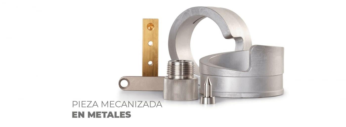 MECANIZADO DE PIEZAS MECÁNICAS EN METALES