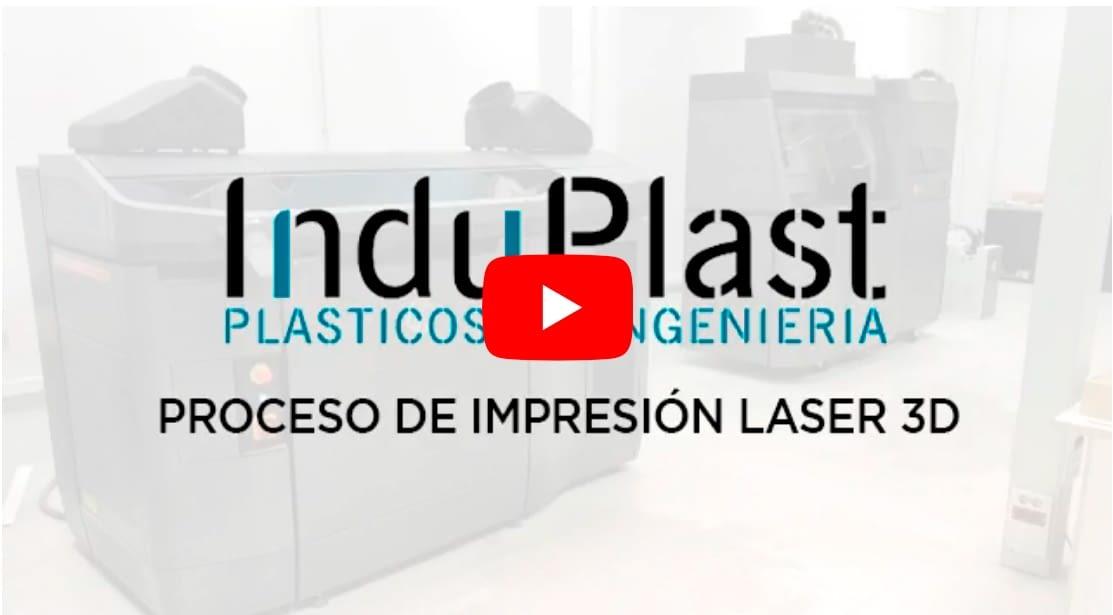 Induplast Video impresiópn laser 3d