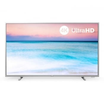 TELEVISOR LED PHILIPS 43PUS6554 PLATA - 43'/108CM - 3840*2160 4K - HDR10+ - DVB-T/T2/T2-HD/C/S/S2 - SMART TV - 20W RMS - WIFI - 3*HDMI - 2*USB