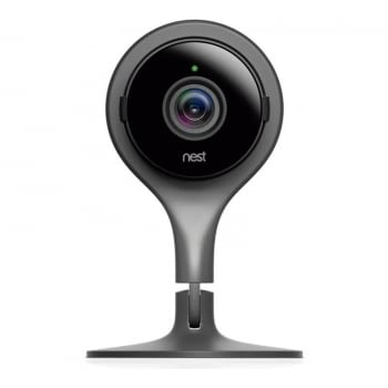CÁMARA VIGILANCIA PARA INTERIOR GOOGLE NEST NC1102IT BLACK - VÍDEO 1920*1080 MAX - WIFI - ZOOM DIGITAL X8 - SENSOR ÓPTICO - CABLE USB 3M