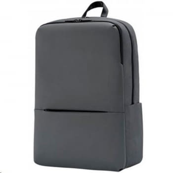 MOCHILA XIAOMI MI BUSINESS BACKPACK 2 DARK GREY - PARA PORTÁTILES HASTA 15.6'/39.6CM - CAPACIDAD 18L - BOLSILLO FRONTAL - POLIESTER