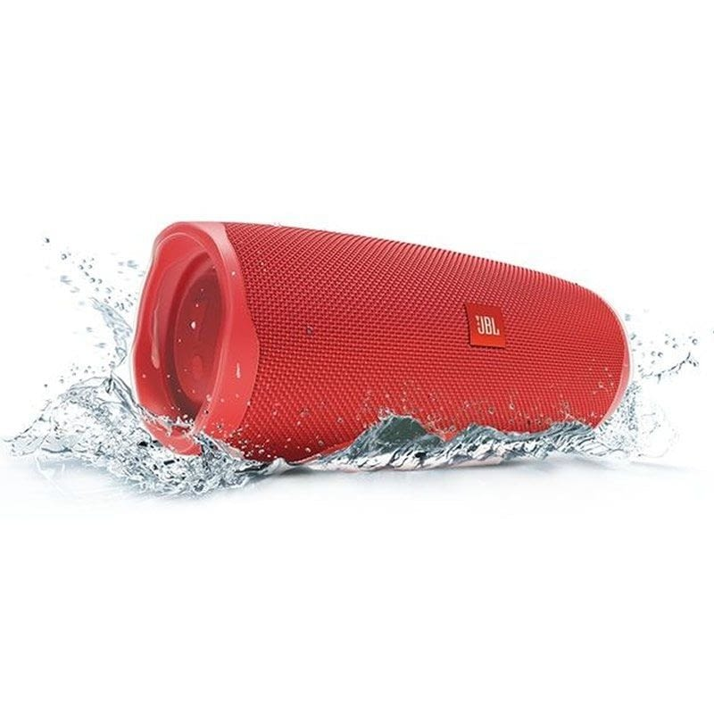 ALTAVOZ BLUETOOTH JBL CHARGE 4 RED - 30W - IPX7 RESIST. AL AGUA - BAT. 7500MAH FUNCIÓN POWERBANK - FUNC. MANOS LIBRES -