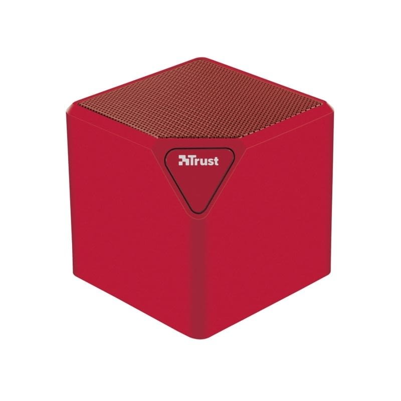 ALTAVOZ BLUETOOTH TRUST ZIVA WIRELESS RED - BATERÍA - USB / SD / LINE IN - FUNCIÓN MANOS LIBRES -