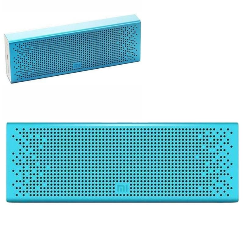 ALTAVOZ BLUETOOTH XIAOMI MI SPEAKER BLUE - 2X3W - DRIVERS 36MM - FUNC. MANOS LIBRES - BAT. 1500MAH -