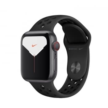APPLE WATCH NIKE SERIES 5 GPS  CELL 40MM CAJA ALUMINIO GRIS ESPACIAL CON CORREA ANTRACITA/NEGRA NIKE