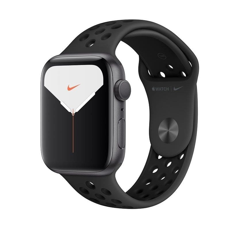 APPLE WATCH NIKE SERIES 5 GPS 44MM CAJA ALUMINIO GRIS ESPACIAL CON CORREA ANTRACITA/NEGRA NIKE DEPOR -